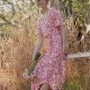 satynowa sukienka